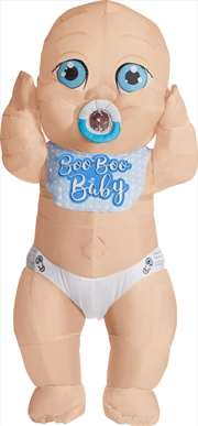 Adult Inflatable Boo Boo Baby Costume | Apparel