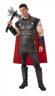 Avengers Endgame: Thor Deluxe Adults Costume: Standard | Apparel