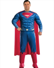 Superman Deluxe Costume: Plus Size   Apparel