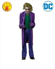 Joker Collectors Edition Adult Costume: XL | Apparel