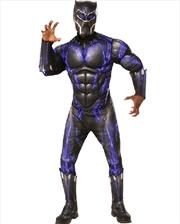 Black Panther Battle Suit Costume - Standard | Apparel