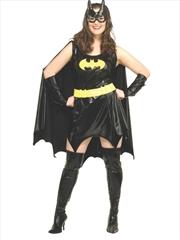 Batgirl Deluxe Adult Costume: Plus Size | Apparel