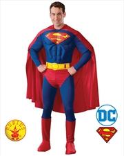Superman Muscle Chest: Medium   Apparel