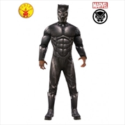 Black Panther Avengers 4 Deluxe Adult Costume - Standard | Apparel