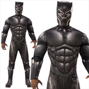 Black Panther Deluxe Adult Costume - Standard | Apparel