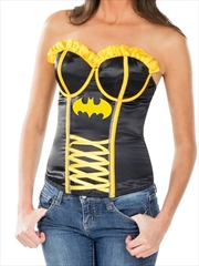 Batgirl Corset: Size Medium | Apparel