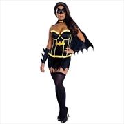Batgirl Justice League Deluxe Adult Costume - Large | Apparel