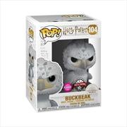 Harry Potter - Buckbeak US Exclusive Flocked Pop! Vinyl [RS] | Pop Vinyl