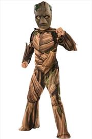 Avengers Infinity War Teen Groot Deluxe Costume: Size S | Apparel