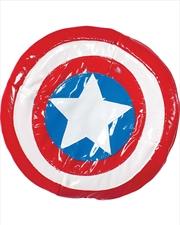 Captain America Plush Shield: 8.5 | Apparel