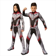 Avengers Endgame Time Travel Suit Deluxe Unisex Child Costume: 5-6 | Apparel