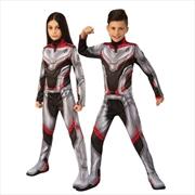 Avengers Endgame Time Travel Suit Deluxe Unisex Child Costume: 7-8 | Apparel
