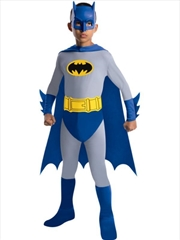 Batman Brave And The Bold Deluxe Costume - Medium | Apparel