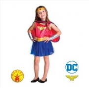 Wonder Woman: Size Toddler 2-4 Years | Apparel