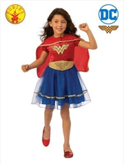 Wonder Woman Deluxe Tutu Child Costume : Large | Apparel