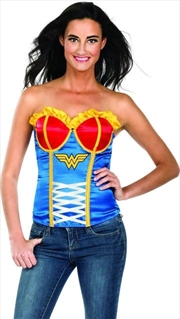 Wonder Woman Corset: Size Large | Apparel
