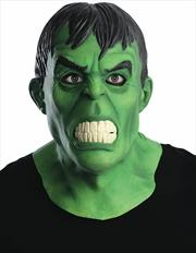 Hulk Overhead Latex Mask | Apparel