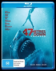47 Metres Down - Uncaged (Meters) | Blu-ray