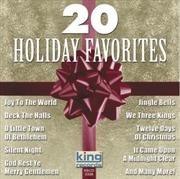 20 Holiday Christmas Favorites | CD