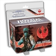 Star Wars Imperial Assault: Rebel Saboteurs Ally Pack | Merchandise