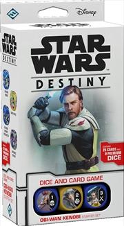 Star Wars Destiny TCDG Obi-Wan Kenobi Starter Set   Merchandise