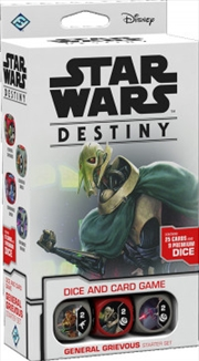Star Wars Destiny TCDG General Grievous Starter Set | Merchandise