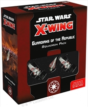 Star Wars X-Wing 2nd Edition Guardians of the Republic Squadron Pack | Merchandise