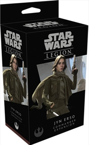 Star Wars Legion Jyn Erso Commander Expansion | Merchandise