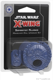 Star Wars X-Wing 2nd Edition Separatist Alliance Maneuver Dial Upgrade Kit | Merchandise