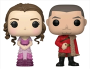 Harry Potter - Hermione & Krum (Yule) US Exclusive Pop! Vinyl 2-pack [RS] | Pop Vinyl