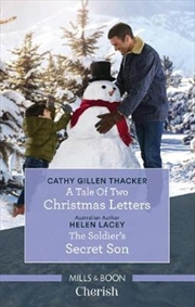 A Tale Of Two Christmas Letters/The Soldier's Secret Son | Paperback Book