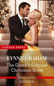 Greeks Surprise Christmas Bride | Paperback Book