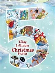 Disney 5 Minute Christmas Stories | Hardback Book