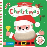 Christmas: My First Touch And Find | Hardback Book