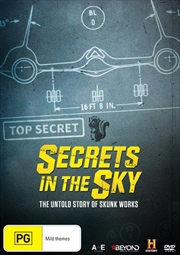 Secrets In The Sky - The Untold Story Of Skunk Works | DVD