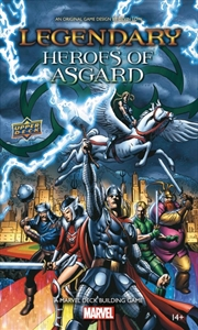 Marvel Legendary - Heroes of Asgard Deck-Building Game Expansion | Merchandise