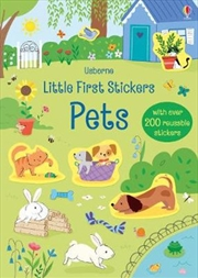 Little First Stickers - Pets | Paperback Book