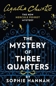 Mystery Of Three Quarters - New Hercule Poirot Mystery | Paperback Book
