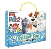 Secret Life Of Pets #2: Sticker Fun Activity Case | Hardback Book