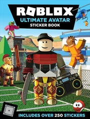 Roblox Ultimate Avatar Sticker Book - Includes Over 250 Stickers   Paperback Book