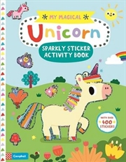 My Magical Unicorn Sparkly Sticker Activity | Paperback Book