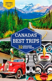 Lonely Planet - Canada's Best Trips 1 | Paperback Book