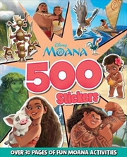 Moana: 500 Stickers | Paperback Book