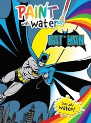 Batman: Paint With Water | Paperback Book
