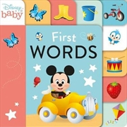 First Words: 9 Tabbed Board Book | Board Book
