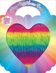 My Rainbow Sticker Bag | Paperback Book