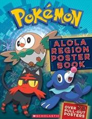 Pokemon: Alola Poster Book | Paperback Book