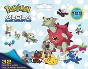 Pokemon: Alola Giant Activity Pad | Paperback Book