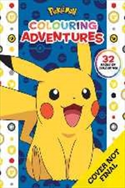 Pokemon: Colouring Adventures | Paperback Book