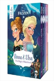 Anna and Elsa: The magic of Sisterhood (Disney Frozen: Chapter Book Boxed Set) | Paperback Book